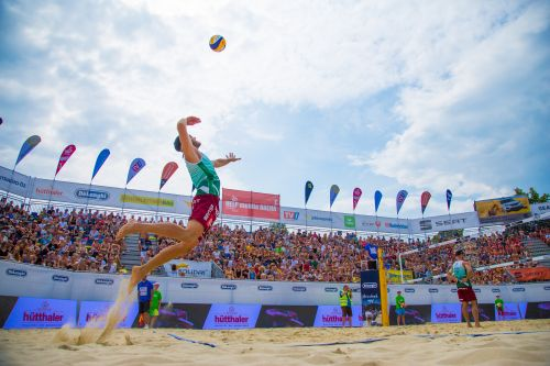 Help-Mobile Arena in Seewalchen © PRO Beach Battle